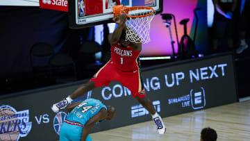 Zion Williamson, Memphis Grizzlies v New Orleans Pelicans