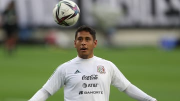 Luis Romo con la Selección Olímpica de México