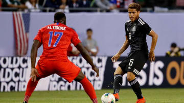 Jozy Altidore vs. Jonathan dos Santos during Mexico vs United States in the Final of the 2019 CONCACAF Gold Cup