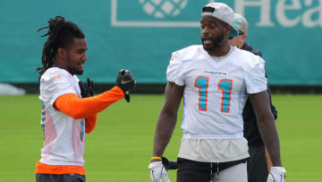 A look at three key training camp battles for the Miami Dolphins.