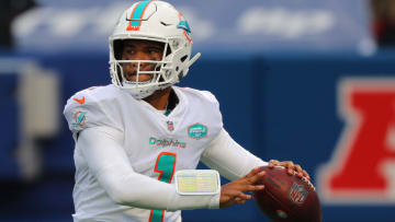A look at the Miami Dolphins' QB depth chart following the NFL Draft.