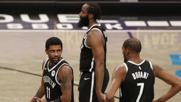Kevin Durant, James Harden, Kyrie Irving