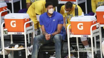 Anthony Davis se encuentra en proceso de recuperación de una lesión de pantorrilla
