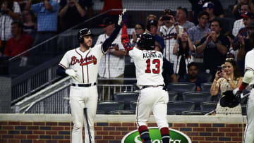 Atlanta Braves stars Freddie Freeman and Ronald Acuña Jr. are both favorites to win National League MVP.