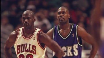 Glenn Robinson and Michael Jordan