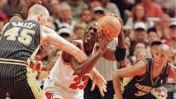 Michael Jordan, Reggie Miller, Rik Smits