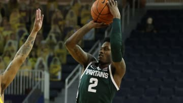 Michigan vs Michigan State prediction and pick ATS and straight up for today's NCAA men's college basketball game between MICH and MSU.