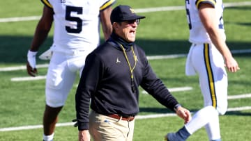 Jim Harbaugh was signed to a four-year contract extension after the disappointing 2020 season.