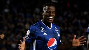Millonarios v America de Cali - Liga Aguila 2019 II - Andrés Román regresó a Millonarios tras su pase frustrado por Boca.
