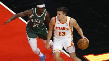 The Bucks and Hawks will face off in the Eastern Conference Finals.