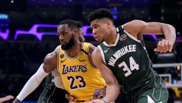Los Milwaukee Bucks y Los Angeles Lakers son dos de los candidatos para coronarse campeones de la NBA