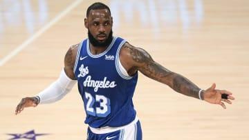 LeBron James es uno de los jugadores que no se han retirado con más juegos en la NBA