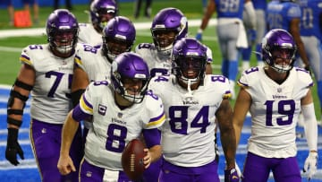 The Vikings could be poised to knock off the Packers in the NFC North.