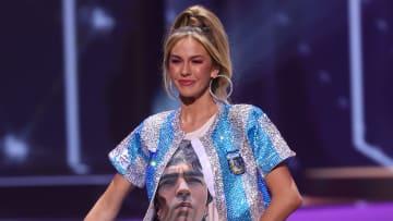 Alina Luz Akselrad impactó al público de Miss Universo con su traje típico