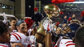 Ole Miss is projected to have a much better season than Mississippi State in 2021.