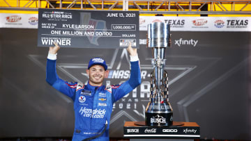 2021 Ally 400 odds for the NASCAR race on Sunday, June 20 favor Kyle Larson.