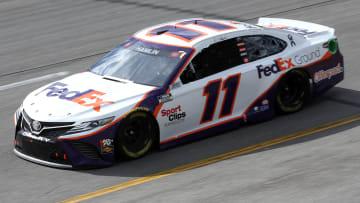 2021 Talladega odds for the NASCAR race today favor Denny Hamlin and Joey Logano.