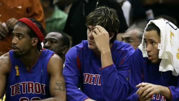 Former Detroit Pistons No. 2 pick Darko Milicic