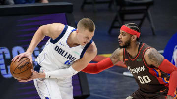 Dallas Mavericks, Kristaps Porzingis, Carmelo Anthony