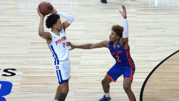 Cade Cunningham is the favorite for Rookie of the Year. | Stephen R. Sylvanie-USA TODAY Sports