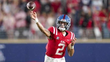 Matt Corral is the new favorite to win the Heisman.   Marvin Gentry-USA TODAY Sports