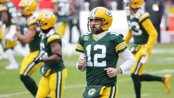 Aaron Rodgers, NFC Championship - Tampa Bay Buccaneers v Green Bay Packers