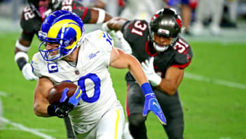 The Rams and Bucs will meet this Sunday afternoon at SoFi Stadium. | Kim Klement-USA TODAY Sports