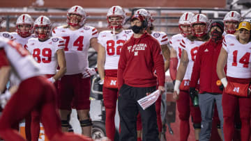 Scott Foster and the 2020 Nebraska Cornhuskers.