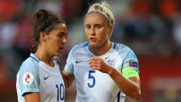 England legends Fara Williams & Steph Houghton each have an MBE