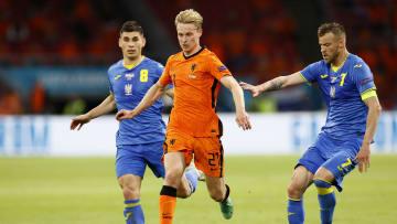 Frenkie De Jong lo hizo todo bien contra Ucrania