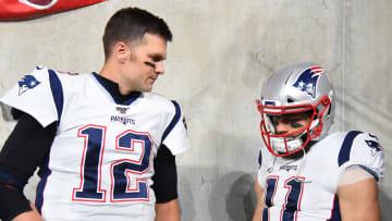 Tom Brady bromeó respecto a la realidad del retiro de su ex compañero Julian Edelman