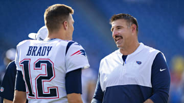 Tom Brady and Mike Vrabel