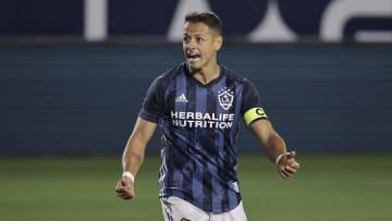 El jugador Javier 'Chicharito' Hernandez.