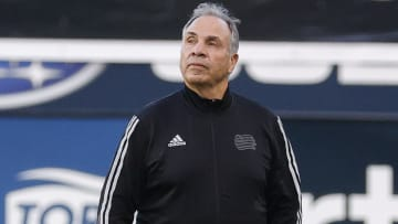 New England Revolution head coach Bruce Arena frustrated after 1-1 result