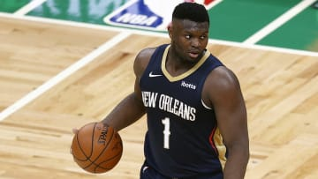 Zion Williamson's Most Improved Player bid isn't getting much respect from oddsmakers.