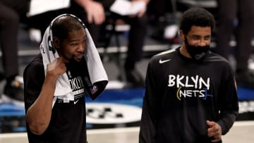 Kevin Durant and Kyrie Irving together again.