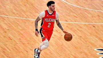 En su etapa en los Pelicans Lonzo Ball ocupaba las posiciones 1 y 2