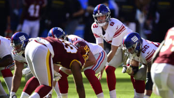 Best prop bets for Giants vs Washington Thursday Night Football game.