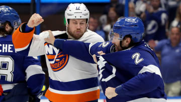 The Islanders are still in their series against the Lightning, despite an ugly Game 5.