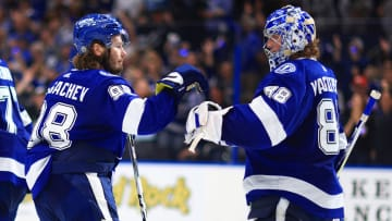 The Tampa Bay Lightning are playing dominant hockey so far in the postseason.