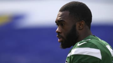 Denzel Mims didn't get any first-team reps during Tuesday's minicamp with the New York Jets.