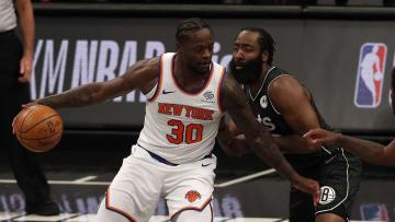 Knicks y Nets se enfrentarán este lunes por la noche