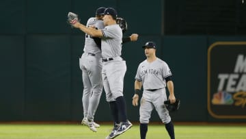 The Yankees ended up taking the win in Oakland