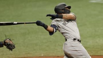 Odor debutó el domingo 11 de abril con los Yankees en la temporada 2021 de la MLB