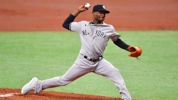 Domingo Germán fue enviado al sitio de entrenamiento alternativo de Yankees