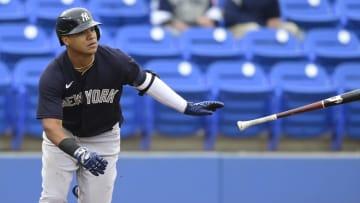 Thairo Estrada tiene dos temporadas de experiencia en la MLB