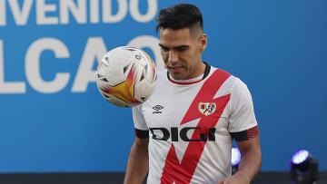 Falcao consiguió brillar como el nuevo goleador del Rayo en pocos minutos