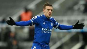 Vardy is set to miss Leicester's next few games due to a hernia problem