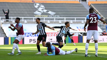 West Ham suffered a potentially damaging defeat at Newcastle