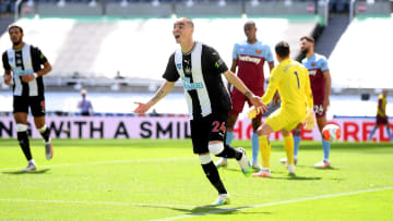 Newcastle twice came back from behind against the Hammers
